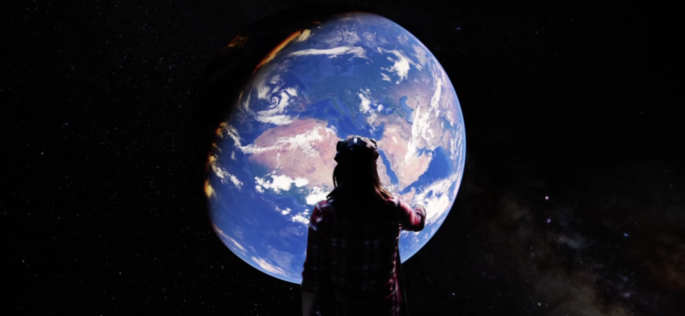 Google Earth, Virtual Reality, Livescope